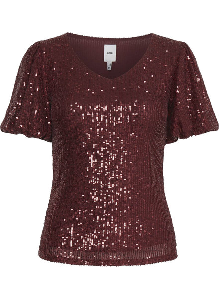 ICHI Ixnora Sequin Top