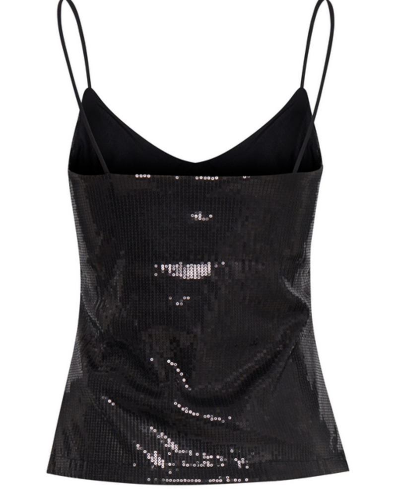 ICHI Ixfreja Sequin Cami Top