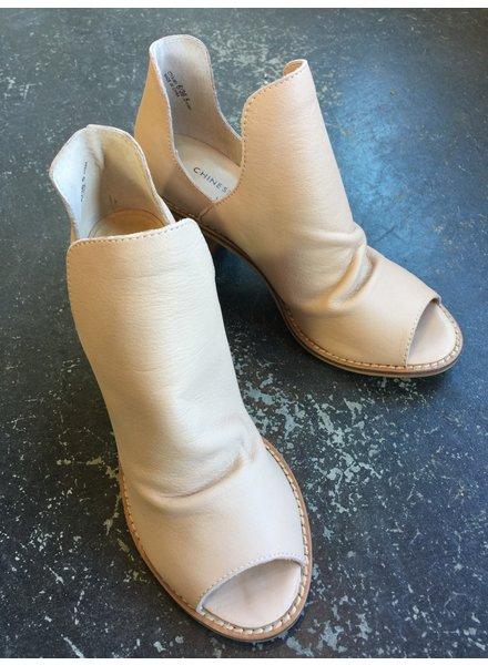 Carlita Peep Toe Bootie