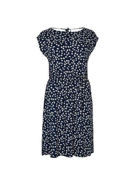 Apricot Ditsy V Back Dress