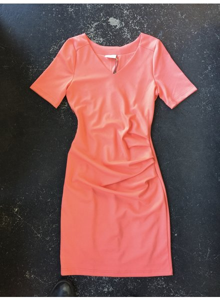 India V Neck 3/4 Sleeve Dress