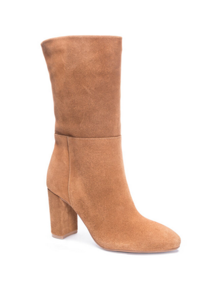Keep It Up Boot Midi Suede Boot