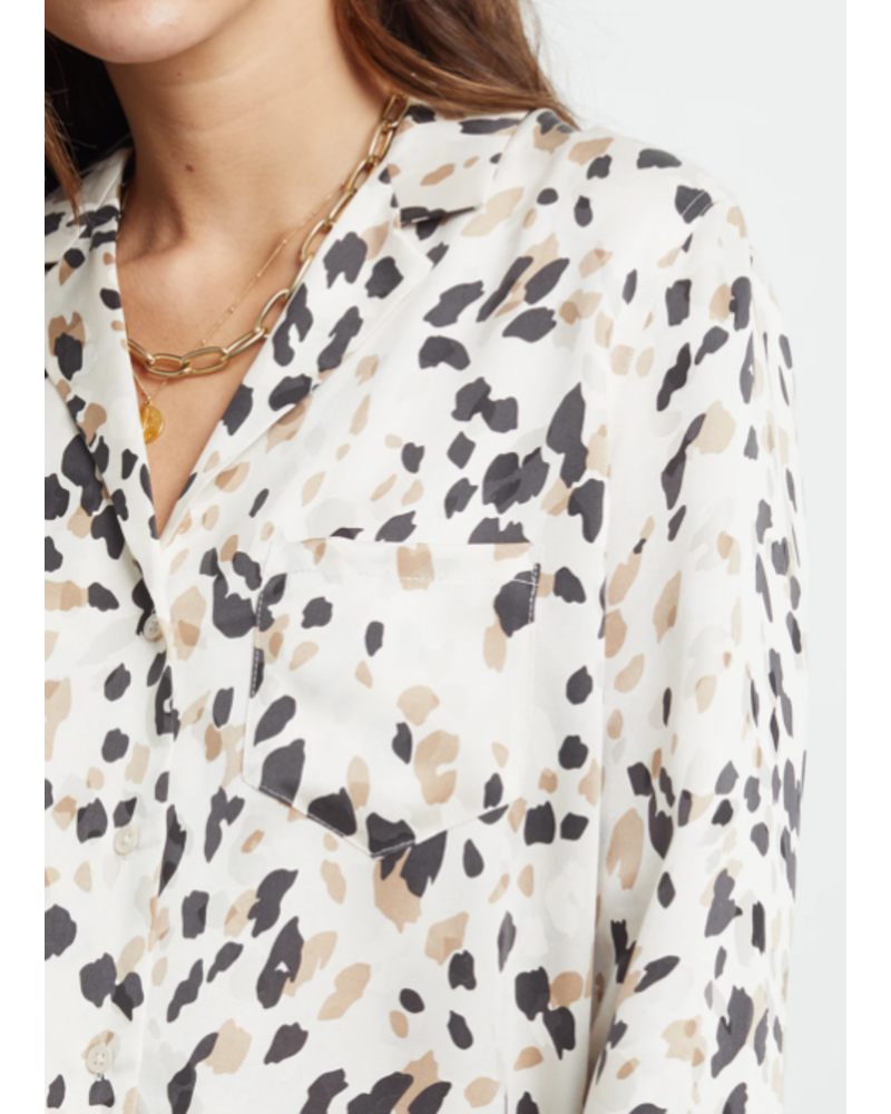 Rails Rebel Abstract Animal Blouse