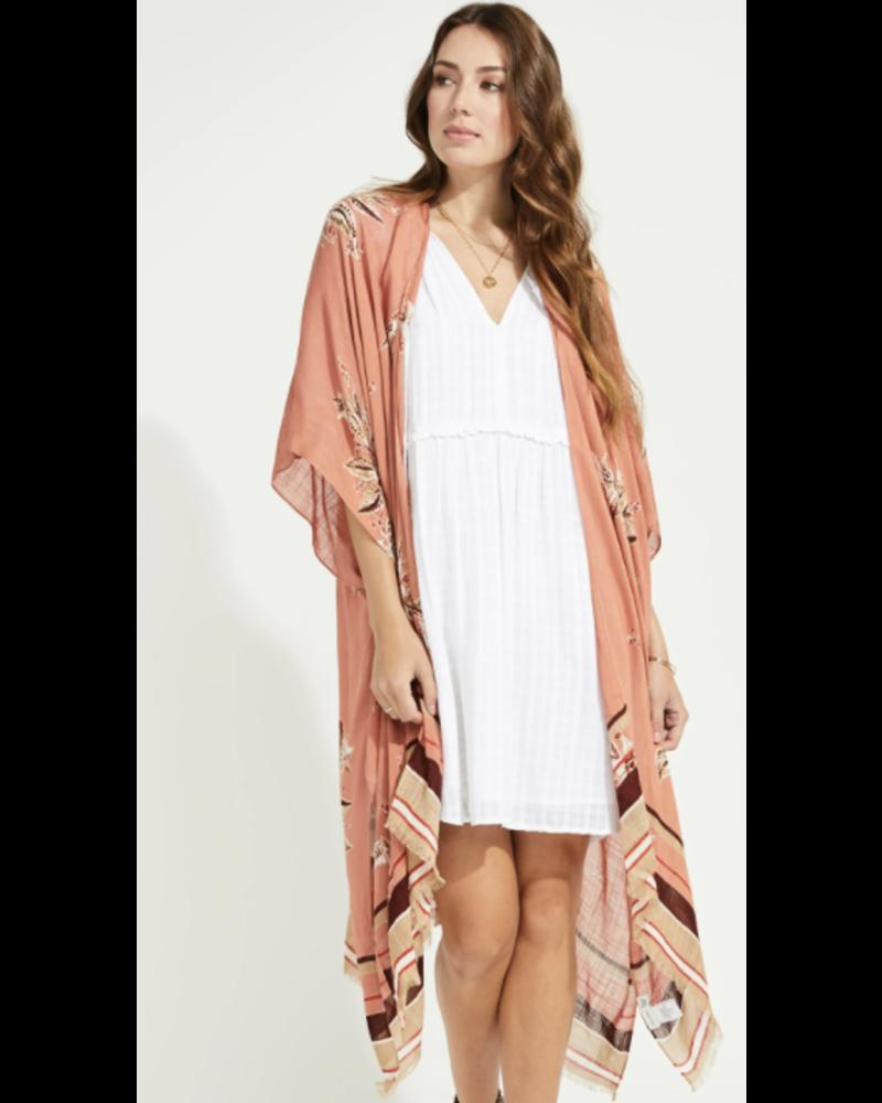GENTLE FAWN Mosiac Kimono