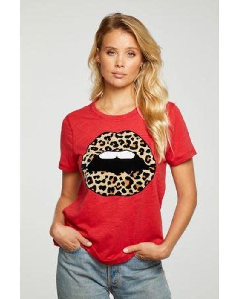 Leopard Lips Tee