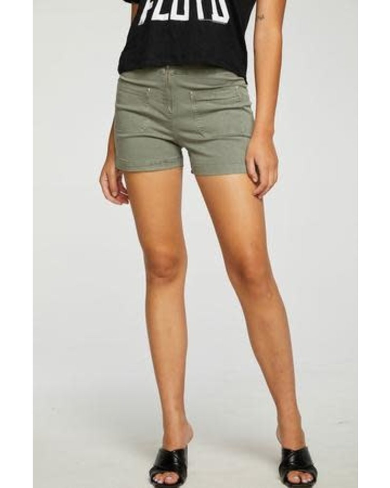 Waist Slit Side Shorts
