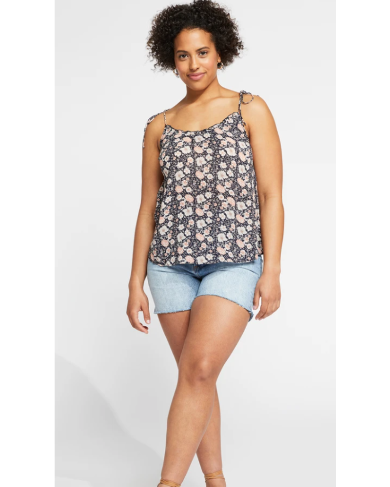 GENTLE FAWN Aster Navy/Floral Tank