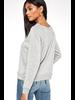Coffee/Wine Reversible Sweatshirt
