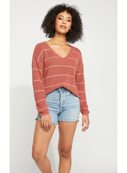 GENTLE FAWN Tucker Muted Clay Pullover