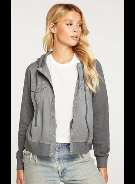 Cropped Trucker Jacket