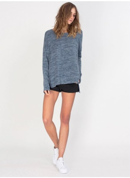 GENTLE FAWN GENTLE FAWN Alllign Top- Indigo: Extra Small -Dark Grey: Medium