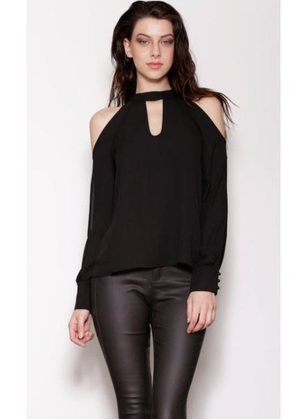 PINK MARTINI Bare Your Soul Blouse- Extra Small