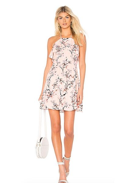 Cupcakes & Cashmere Corralyn Floral Dress