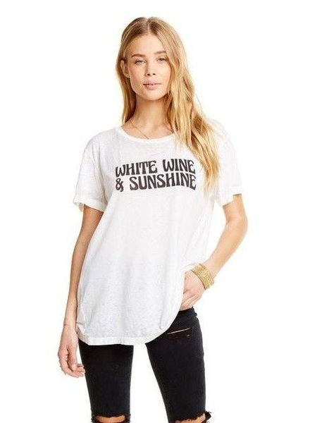 Chaser White Wine & Sunshine Tee