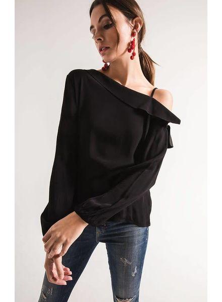 Black Swan Kiara One Shoulder Top