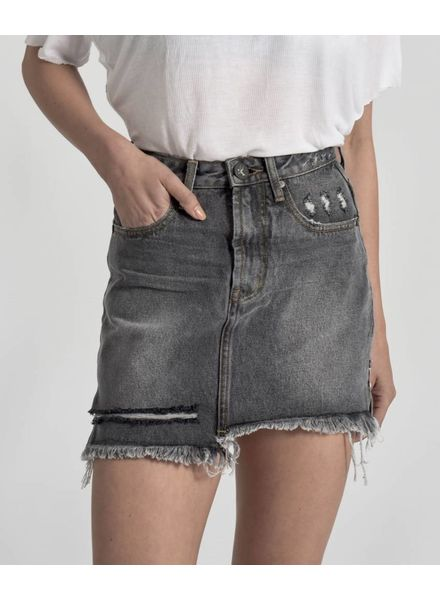 One Teaspoon 2020 Mini High Waist Denim Skirt