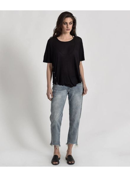 One Teaspoon Bamboo Ribbed Tee