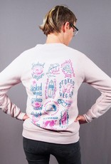 Stoked Vegan Crew Neck Sweatshirt