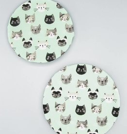 Now Designs Bowl Cover Set Cats