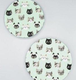 Now Designs Bowl Cover Set Cats
