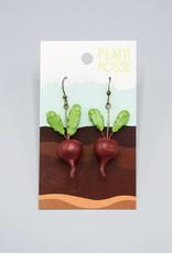 Plant Posse Beet Earrings