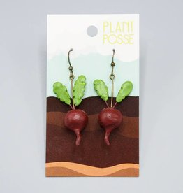 Plant Posse Beet Earrings
