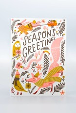 Woodland Greetings Holiday Card