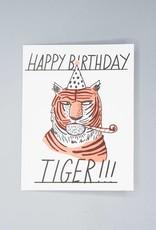 Happy Birthday Tiger Card