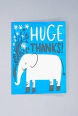 Huge Thanks Elephant Card