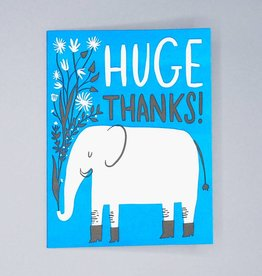 Huge Thanks Elephant Card