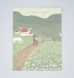 I Love You Hills Card