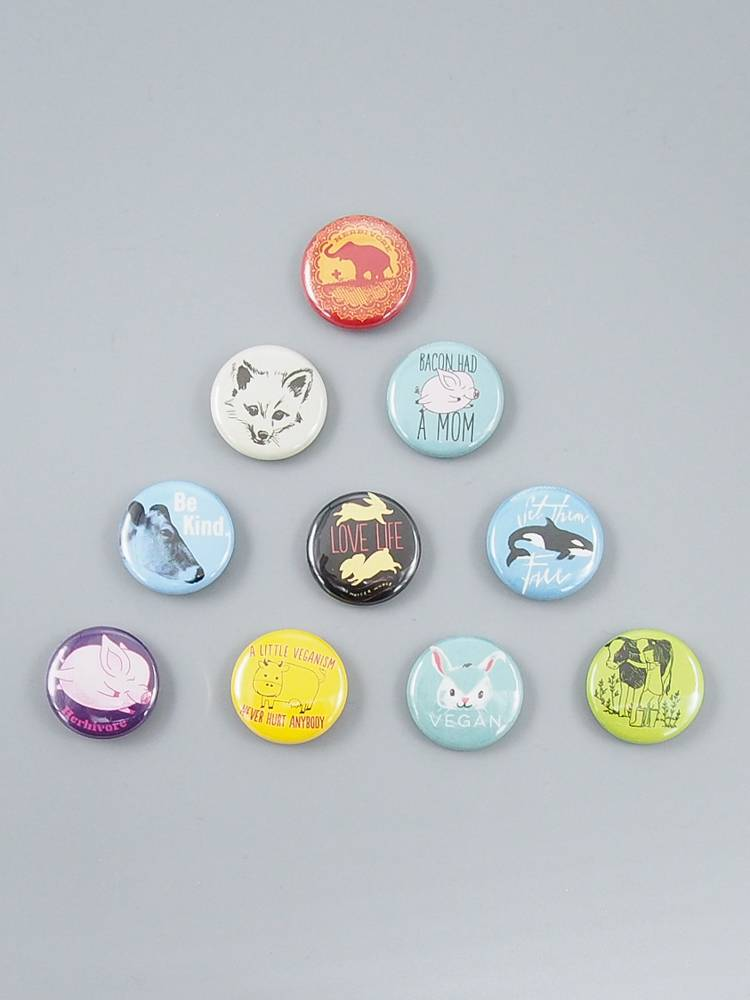 Animals Button Set