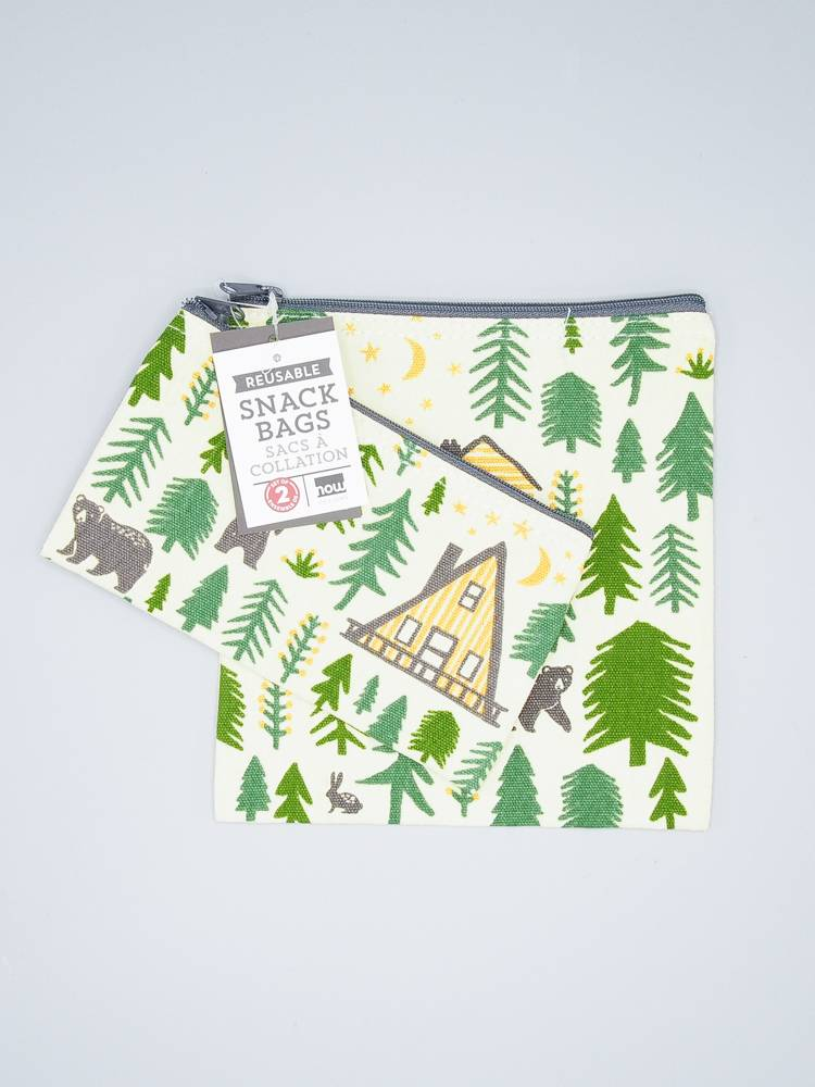 Now Designs Snack Bag Set Wild & Free