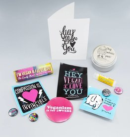 Hey Vegan I Love You Valentine's Gift Set