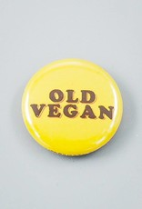 "Old Vegan 1"" Magnet"