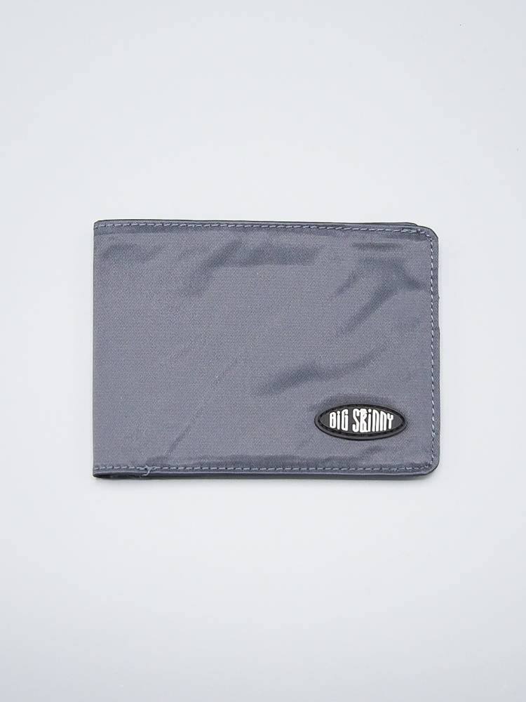 Big Skinny Bi-Fold Wallet Charcoal