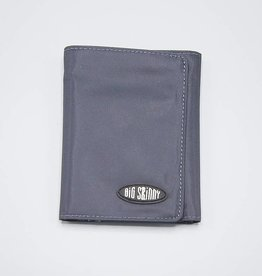 Big Skinny Tri-Fold Wallet Charcoal
