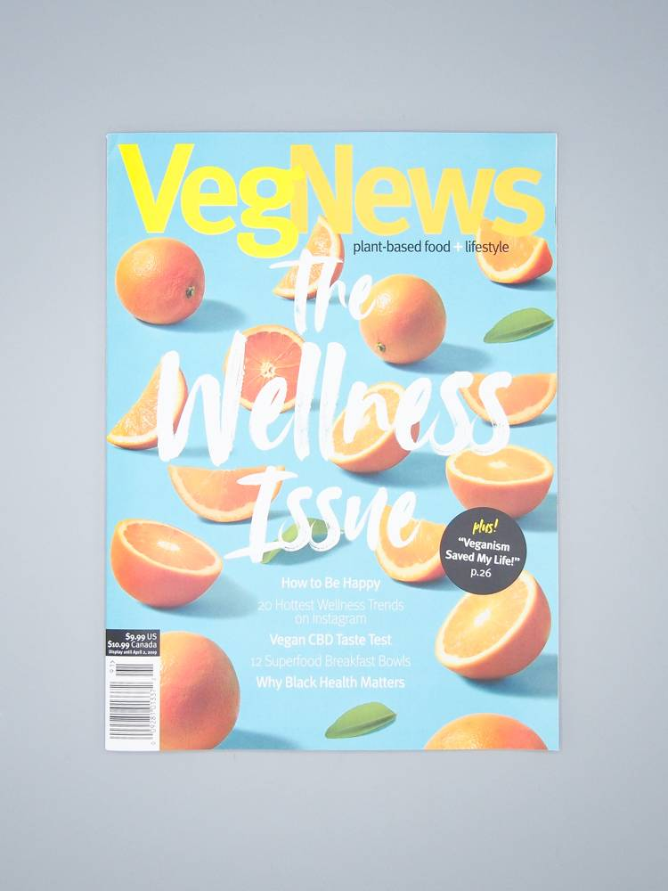 VegNews Magazine - The Wellness Issue