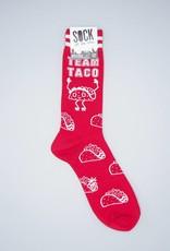 Team Taco Men's Crew Sock from Sock It To Me
