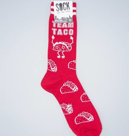 Team Taco Men's Crew Sock from Sock It To Me