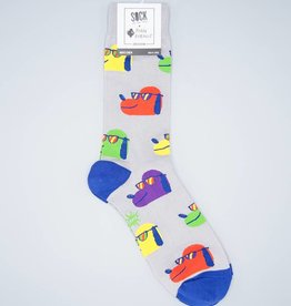 Dog With Shades Men's Crew Sock from Sock It To Me