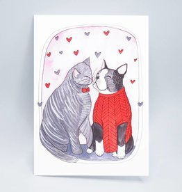 Chloe and Clancy Valentine's Day Card