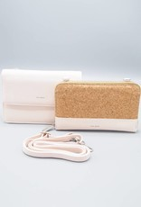 Jane 2-in-1 Wallet Purse by Pixie Mood Blush & Cork