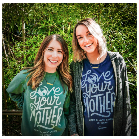New Design Alert: Love Your Mother, Fight Climate Change, Go Vegan!