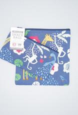 Now Designs Snack Bag Set Wild Bunch