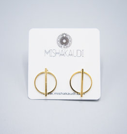 Kilo Post Earrings by Mishakaudi