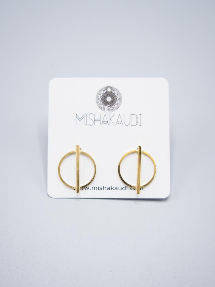 Kilo Post Earrings by Mishakaudi