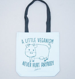 A Little Veganism Never Hurt Anybody Tote