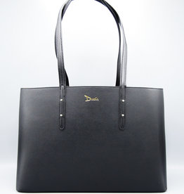 Debut Casual Tote by Doshi Black