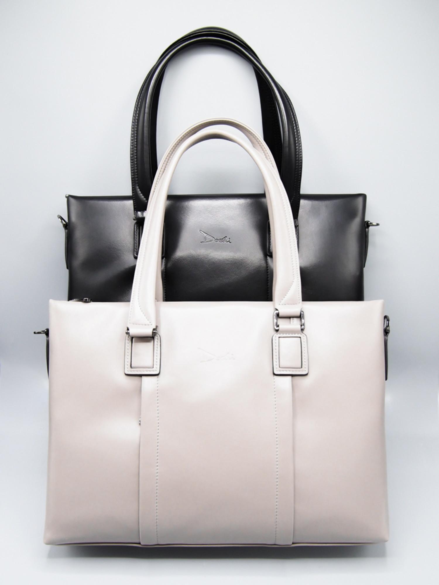 Womens Business Bag Microfiber Vegan Leather Doshi Tablet Brief